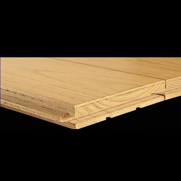 parquet ch taignier flottant 9 cm de large brut grain d 39 orge 4 faces. Black Bedroom Furniture Sets. Home Design Ideas