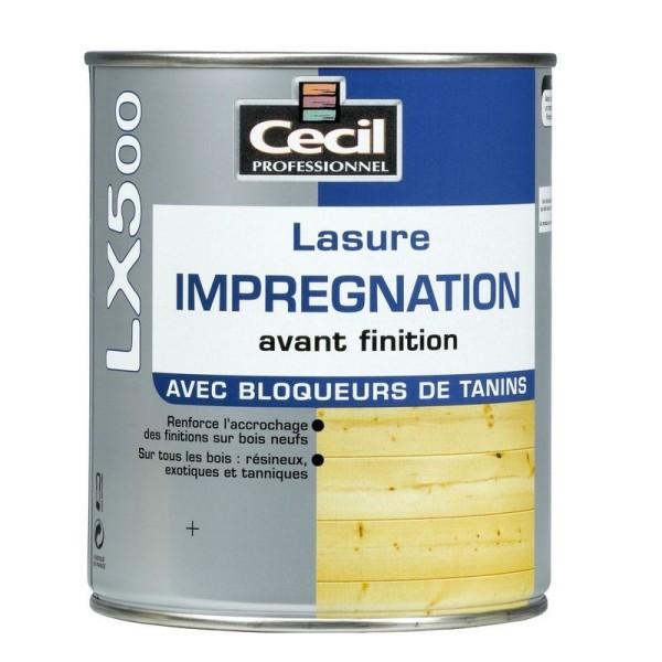 Lasure (d'imprégnation) Cecil LX 500