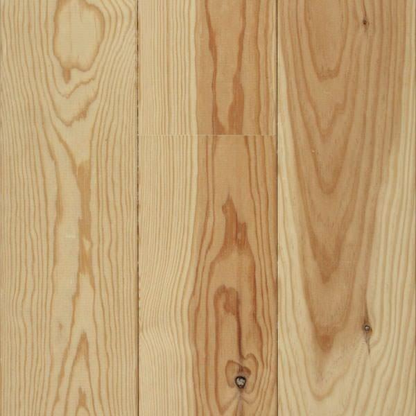 Parquet pin cloué, simple face - (largeur 12 cm)