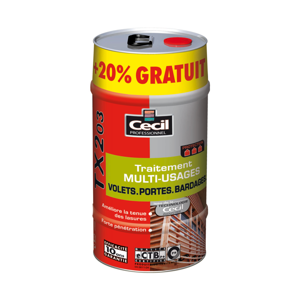 Traitement multi usage, TX203, Cecil, 5L